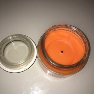 sweet fall scented candle!